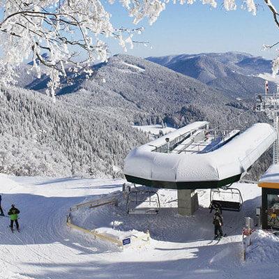Fahrt zum Schnee